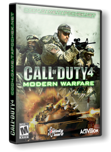 Call of Duty 4 - Modern Warfare (2007/RUS/RePack) скачать торрент