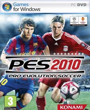 Pro Evolution Soccer 2010 (RUS/Repack) скачать торрент