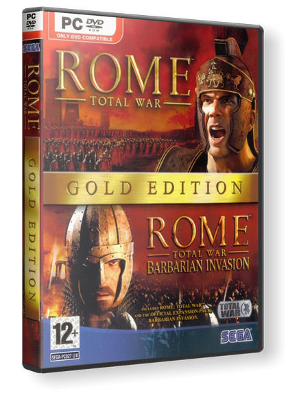 Rome: Total War - Gold Edition скачать торрент